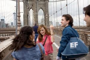 Studium v USA, New York, EF