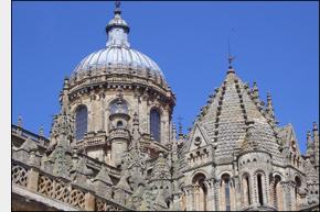 dvě katedrály Salamancy