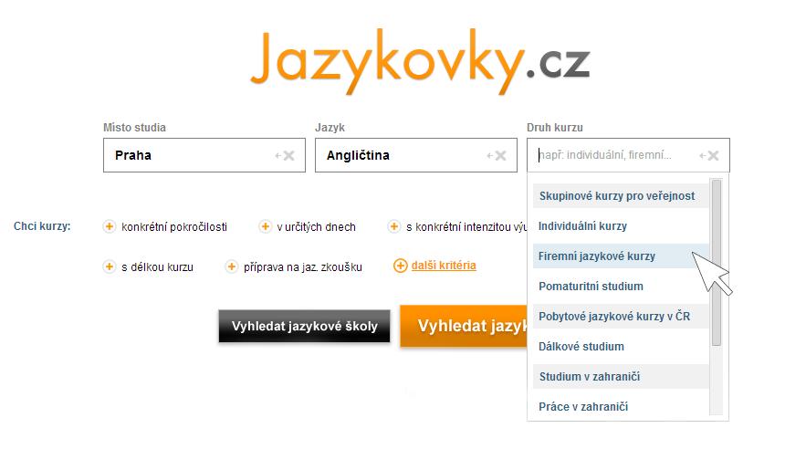Jazykovky - firemní angličtina v Praze