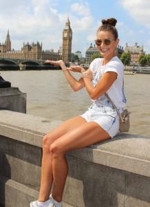 Česká Miss 2015 v Londýně